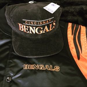 893fee0b Vintage Cincinnati Bengals starter hat/jacket